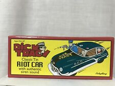 Schylling Dick Tracy Classic Tin Friction Toy With Siren Original Box