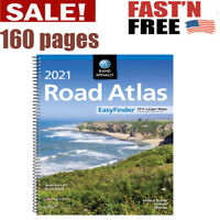 Rand Mcnally USA Road Atlas 2021 BEST Large Scale Travel Maps United States NEW