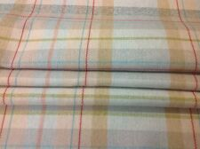Made to measure roman blind Prestigious textiles. Faux wool Check fabric duckegg