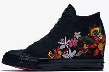 b8887e1611b2 Converse Patbo Black Floral Pink High Chuck Taylor All Star Lux Mid Sz 6.5