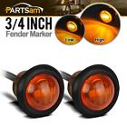 2pcs 34 Led Marker Clearance Light Turn Signal Light 3diode Amber Light3 Wire