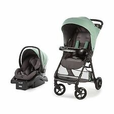 Safety 1st Smooth Ride Travel System With Onboard 35 LT Infant Car Seat Moss