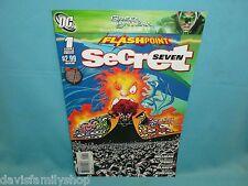 Flashpoint Secret Seven #1 DC Comic Comics Fine Condition