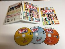Karaoke Revolution Glee 1 2 3 Nintendo Wii 3 Game Bundle