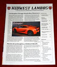 Lamborghini Club America Newsletter La Vita Lamborghini Spring 2007