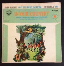 Songs from Music for Living – Album 6 - In Our Country – 78 rpm Columbia JS 346