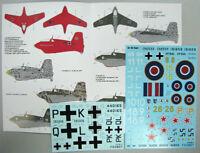 Foxbot 32-002 1/32 Decal for Messerschmitt Me 163 Komet