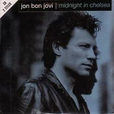 CD SINGLE BON JOVI	Midnight in Chelsea 2-Track CARD SLEEVE with sticker NEW