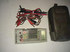 Fluke 8060A, Test meter with 2 sets of leads
