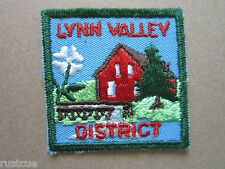 Lynn Valley District Canada Canadian Boy Scouts Scouting Woven Cloth Patch Badge