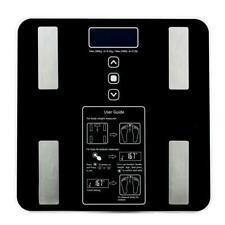 Digital Touch Body Fat Scale BMI Water Muscle Calorie Bone Weight 400lb