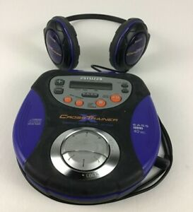 Aiwa Cross Trainer Compact Disc Player XP-SP90 Personal Portable Headphones Work