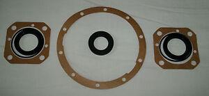 MGB (banjo axle), MGA, MAGNETTE A55,A60 etc; rear axle seal set (8 pcs)