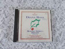 "Hallmark Presents Diana Ross ""Making Spirits Bright"" Music CD 1994 12 Songs"