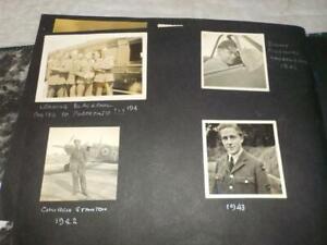 WWII 312 SQUADRON PHOTO ALBUM RAF CREW  ST.ANNES, CHURCH STANTON, BLACKPOOL x 27
