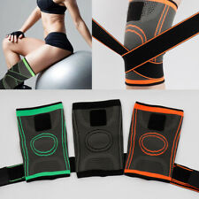 Knee Sleeve Adjustable Compression Brace Straps Outdoor Sport Running Protect