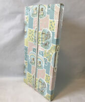 Vintage Vinyl Folding Baby Box Bed With Mattress John-ee-seat Corp Collectable