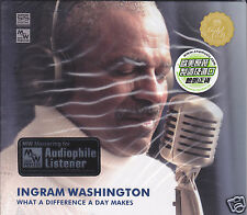 """Ingram Washington What A Difference A Day Makes"" STS Digital MW Audiophile CD"
