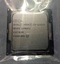 Intel Xeon E3 1231 v3 - 3.4GHz Quad Core Socket 1150 Processor Max Turbo 3.8GHz
