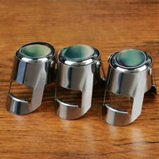 Stainless Steel Reusable Vacuum Sealed Champagne Wine Bottle Stopper Cap
