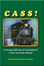 Cass! Shay #5 & #6 on the Cass Scenic DVD NEW Hopewell Greenbrier Bald Knob