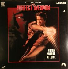 The Perfect Weapon Laserdisc 1991 Paramount LV 32519 Martial Arts Action Rated R