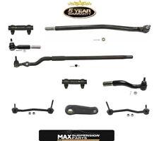 00-04 F250 F350 Super Duty 4x4 Pitman Arm & Tie Rods 9pc Kit