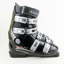 Vintage Salomon Size 43 SR 601 SNS Profil Cross Country Ski Boots Made in France
