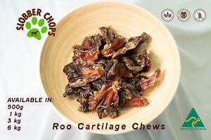 KANGAROO ROO TENDON CARTILAGE (KNEE) 100% NATURAL LOW FAT HARD CHEW DOG TREAT