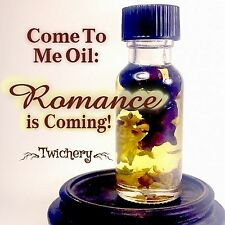 COME TO ME OIL, Seduction, Spell, Romance, Lucky, Hoodoo, Ritual, Mojo, Voodoo