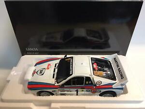 Kyosho Lancia 037 Martini #1 Rohrl Monte Carlo Rally 1983 1/18 08306A