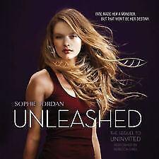 The Uninvited Book 2: Unleashed By Sophie Jordan (2015. Cd. Unabridged)