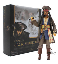 Pirates of the Caribbean Captain Jack Sparrow Action Figure Model PVC New