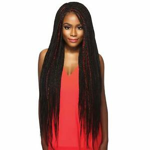 """3 PACK Outre Synthetic Hair Braids X-Pression Kanekalon Pre Stretched Braid 52"""""""