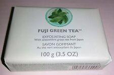 The BODY Shop FUJI GREEN TEA SOAP Exfoliating 100 g 3.5 oz Full Size NEW Lovely!