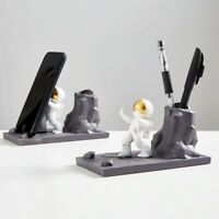 Space Astronaut Pen Holder Office Home Desk Decoration Pencil Holder