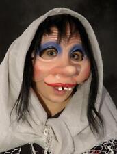 Fool Mask Womens Goofy Big Nose Wig Half-Wit Buckteeth Halloween Costume M2538