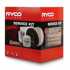 RYCO Oil Air Fuel Cabin Filter Service Kit ISUZU DMAX MUX 2013 onwards RSK28C