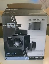 Dresden Acoustics Ds-10 5.1 Home Theater System New In Open Box