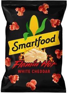 Smartfood FLAMIN' HOT WHITE CHEDDAR Popcorn, 6.75 Oz Bag