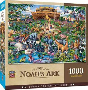 Noah's Ark 1000 piece jigsaw puzzle 680mm x 490mm (mpc)