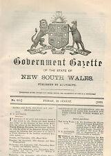 Government Gazette (NSW)...No.210...Aug. 1919...Regulations, Mines, Land Sales..