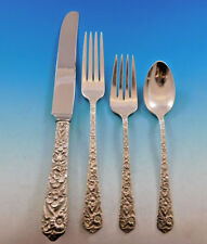 Radiant Rose by International Sterling Silver Flatware Service 8 Set 32 Pieces