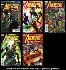 Avengers Prime 1 2 3 4 5 Complete Set Run Lot 1-5 VF/NM