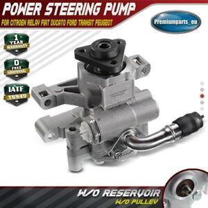 Power Steering Pump for Citroën Fiat Ducato Ford Transit MK7 MK8 Boxer 02-2017