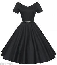 Rockabilly Casual Plus Size Vintage Dresses for Women