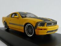 Ford Mustang By Parotech Cesam Jaune 2007 1/43 Norev 270540V