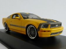 Ford MUSTANG by Parotech CESAM Jaune 2007 1/43 Norev 270540 V