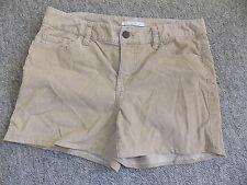 Camel coloured corduroy chino hotpant shorts London Jean Victorias Secret sz 8