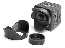 Sonnenblende Lens Hood f. SJCAM M10 Action Camera Sun Shade Cap Linsen Schutz